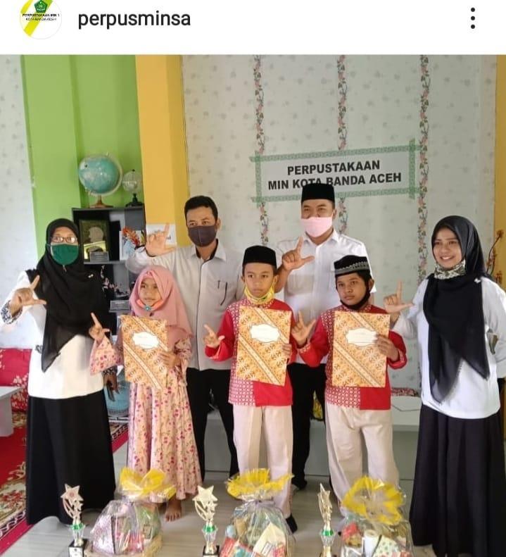 Prestasi Siswa Madrasah Ibtidaiyah Negeri 1 Banda Aceh